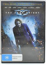 Christian Bale, Michael Caine, THE DARK KNIGHT, 2 DVD SPECIAL EDITION, F n F