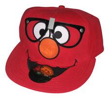 Sésame Rue Lunettes Elmo Bioworld Ajusté Flat-Bill Baseball Chapeau