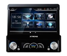 "RADIO DVD GPS COCHE 1DIN LCD TACTIL 7"" BT USB SD FRONTAL FRONTAL EXTRAIBLE"