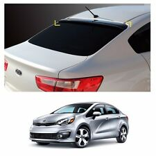 Smoke Roof Rear Visor Wing Spoiler Molding for KIA RIO 4-Door 2012-2016