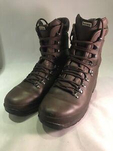 Supergrade British Army Altberg Alt-Berg Defender Brown Male Cadet Boots 9M