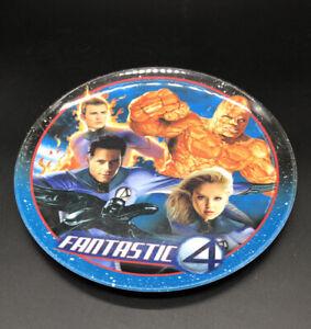 Zak Designs Fantastic 4 Plastic Plate Marvel Comics