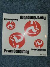 Power Computing Power Base User's Guide Mac Clone + Bonus stickers