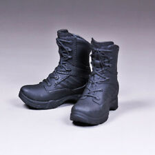 """1/6 Scale Female Tactical Boots Black for Phicen 12"""" Action Figure Body"""