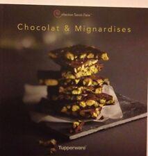 """livre  tupperware neuf  """" chocolat et mignardises """""""