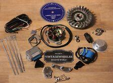 Lambretta Gp Std Peso 12V Accensione Elettronica Kit- Cdi- sil Statore & Extra