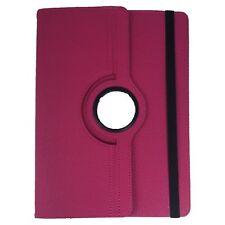 Bookcase Tablet Tasche für ARCHOS 101e Neon Hülle Pink 10.1 Zoll 360