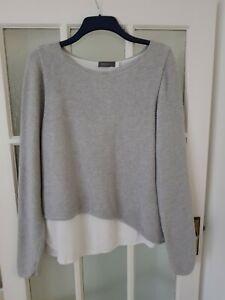 MINT VELVET grey jumper size 16