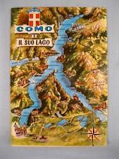 Como E Il Suo Lago Portichetto Kina Italia Milano Italy Unused Postcard Nice (O)