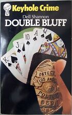 Double Bluff – Dell Shannon; Paperback book (Keyhole Crime 1982)