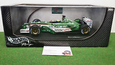 F1 JAGUAR RACING R4 2003 #14 WEBBER au 1/18 d HOT WHEELS B1025 voiture formule 1