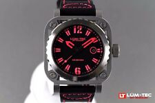 LUM-TEC DIVER G10 NEW + GIFT MEN'S WATCH AUTHORIZED DEALER FREE SHIPPING + VIDEO
