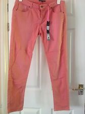 BNWT M&S Collection Faded Look Salmon  Skinny Trousers size 14 £7.99 RRP £39.50