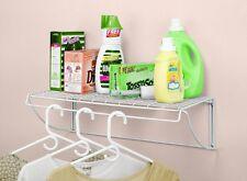 Utility Shelf Hanger Laundry Room Storage Hanging Shelves Wall Mount Organizer