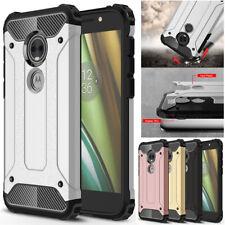 For Moto G6 Play G6 E5 Plus E5 E4 P30 Note Rugged Armor ShockProof Case Cover