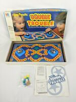 1987 Double Trouble Board Game Milton Bradley Popomatic Pop Vintage Complete