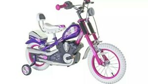 Spike Easy Rider 14 inch Wheel 7 Inch Frame Size Pink Chopper Girls Bike
