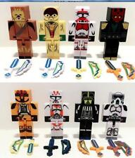 8 Minecraft Style Star Wars Juguetes Heroes Custom Toy Figures With 16 Weapons