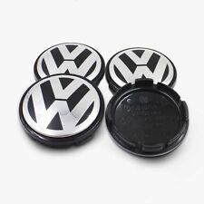 NEW SET OF 4 56MM VW VOLKSWAGEN GOLF BEETLE JETTA WHEEL HUB CAPS LOGO 1J0601171
