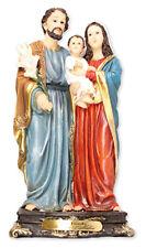 "The Holy Family Jesus Mary Joseph - 16"" Florentine Resin Statue - Religious Gift"