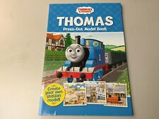 THOMAS & FRIENDS PRESS OUT YOUR OWN STATION MODEL BOOK,  ***NEW***