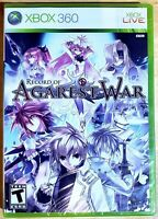 Record of Agarest War (Microsoft Xbox 360, 2010) **FACTORY SEALED**