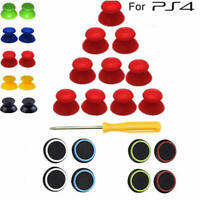 10 Thumbstick replacement with 8 Thumb Grips for Sony Playstation PS4 Slim/PRO
