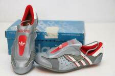 NOS Vintage Adidas Eddy Merckx Super Road Bike Shoes Lace Made in France Gray 36