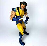 """Unmasked Wolverine Logan ToyBiz 2003 Marvel X-Men 6"""" Action Figure"""