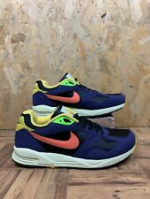NIKE AIR BASE VINTAGE 2, UK Size 8, Purple/Black/Yellow Trainers,*EX COND*