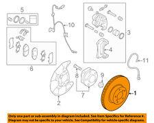 SUBARU OEM 96-99 Legacy Front Brake-Disc Rotor 26300AE071