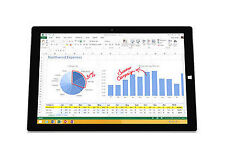 Microsoft Surface Pro 3 1631 64GB (Wi-Fi) 12in  Silver - Grade B