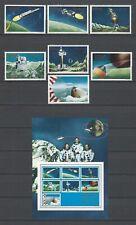 Somalia 1970  Apollo 11 Moon Landing  MNH Stamps & Miniature Sheet Set-Fantasy