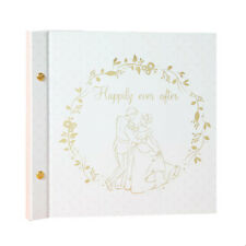 Disney Cinderella & Prince Charming Wedding Album Perfect Wedding Gift For Bride