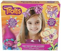 Trolls Make Your Own Hair Accessories Kit Brand New! For Ages 5+ Years Sambro