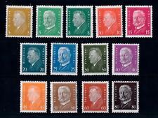 [70470] Germany Reich 1928 Presidents Mi.410-422 CV €1100 MNH Original gum