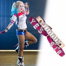 Harley Quinn Faux Leather Fancy Dresses