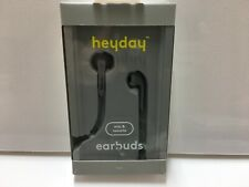 heyday Wired In-Ear Flat Cable Earbuds