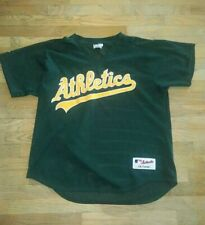 Oakland Athletics #28 Majestic MLB Baseball Batting Practice Mesh Sewn Jersey 48