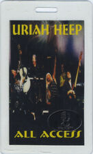 URIAH HEEP 2000 Tour Laminated Backstage Pass Mick Box