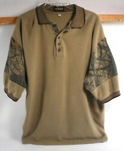 Legendary Whitetails Realtree Hardwoods Camo Shirt W/ Collar - 3X - Exc. Cond.