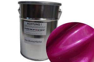 1 Liter Spritzfertigen Basislack Candy Pink 2 Metallic Autolack Lackpoint neu