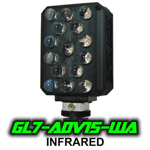 Ghost Light ™ GL7-ADV15 IR Extra Wide Angle Infrared LED for Night Vision Camera
