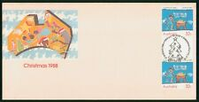 Mayfairstamps Australia FDC 1988 Children Christmas Drawing Block First Day Cove