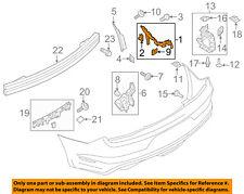 FR3Z17D942B Ford Bracket bumper mounting FR3Z17D942B