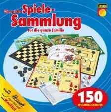 Spielesammlung 150 unterschiedliche Spielvarianten in einer Box für die Familie