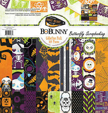 Halloween Fright Delight Collection  12x12 Scrapbooking Kit BoBunny 15016938 New