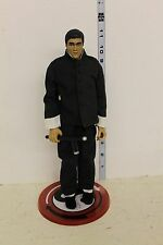 LOOSE Bruce Lee 12in Figure blue