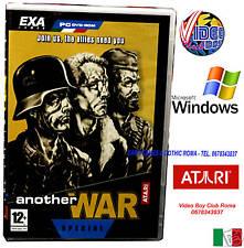 ANOTHER WAR PC DVD WINDOWS ITA NUOVO ITALIANO