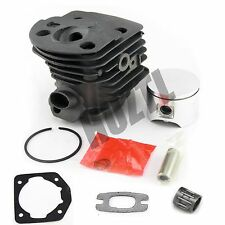 46MM Cylinder Piston With Gasket Pin Bearing For Husqvarna 55 51 Chainsaw NEW